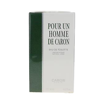 Caron 'Pour Un Homme De Caron' EDT 4.2ozWith rejse Spray ny 2 stykker Gavesæt