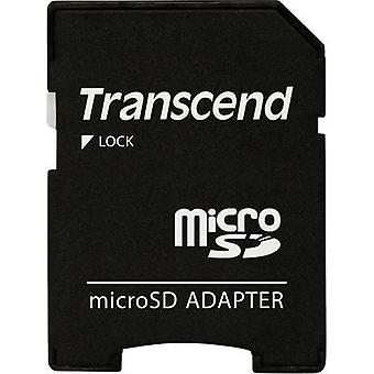 SD card adapter Adapted from: microSD card Adapted to: SD card Transcend