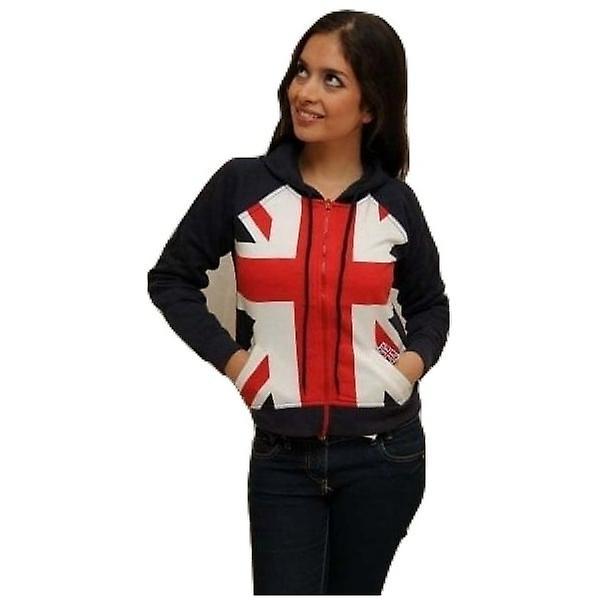 Union Jack Wear Unisex Union Jack Zip Hoodie