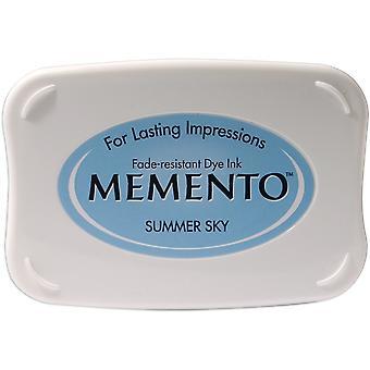 Memento Dye Ink Pad-Summer Sky