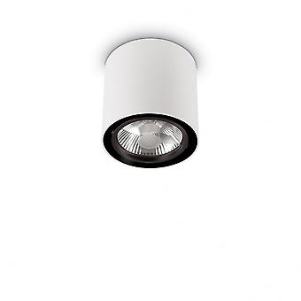 Ideal Lux Mood 14.5cm GU10 White Surface Ceiling Spotlight