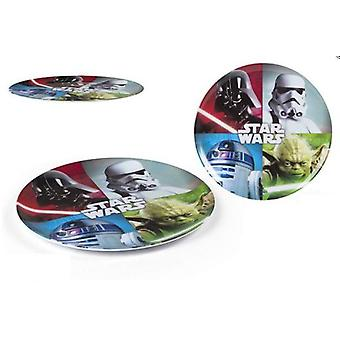 Import Star Wars-Plate Melamine (Kitchen , Household , Child's)