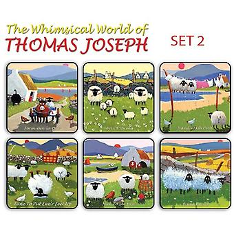Thomas Joseph - Set of 6 Coasters (Set 2)