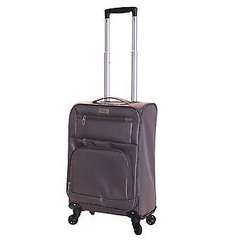 Karabar Lecce 55 cm léger cabine valise, Taupe