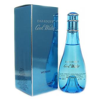 Cool Water femme par Davidoff 3.4 oz Eau de Toilette Spray