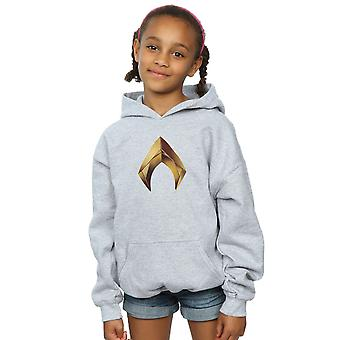 DC Comics Girls Aquaman Emblem Hoodie