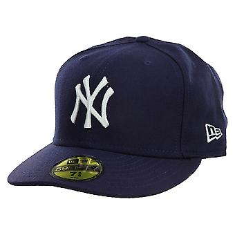 New Era New York Yankees Fitted Hat Mens Style : Nyyankee