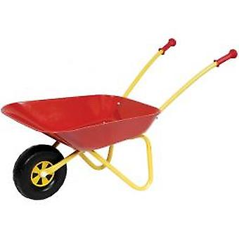 Wheelbarrow metal red 40x38x78cm