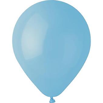 Baby Blau Premium-Latex Luftballons 25-pack