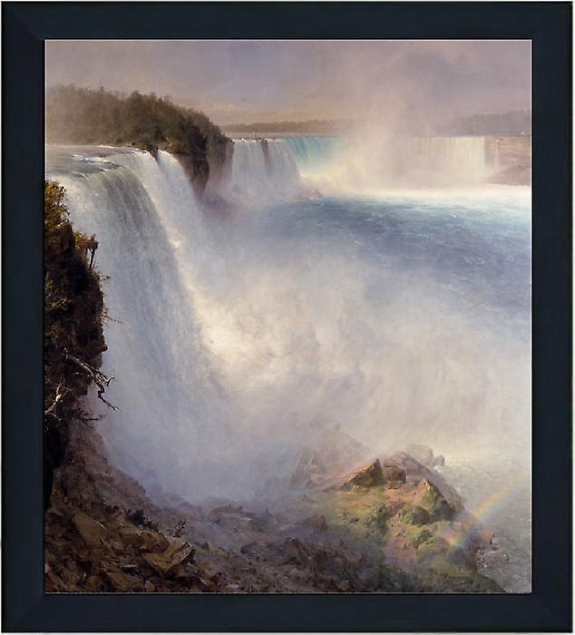 Med ram Niagara Falls from the,Frougeeric E.Church,61x51cm