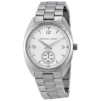 Michael Kors Callie Wrist Watch Stainless Steel band Silver Dial MK3342