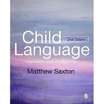 Kindersprache - Akquisition und Entwicklung - 9781446295625 Buch