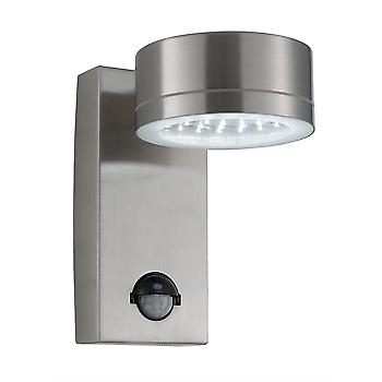 9550SS Stainless Steel LED Outside Wall Light With Motion Sensor