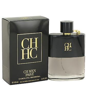 Prive de CH de Carolina Herrera Eau De Toilette Spray 3.4 oz/100 ml (hombres)