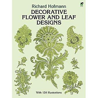 Dekorative Blume und Blatt Entwürfe (Dover Konstruktionsbibliothek) (Dover-Design-Bibliothek)