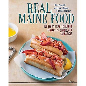 Maine Real Food: 100 plaques de pêcheurs, agriculteurs, tarte aux Champs et des baraques de palourde