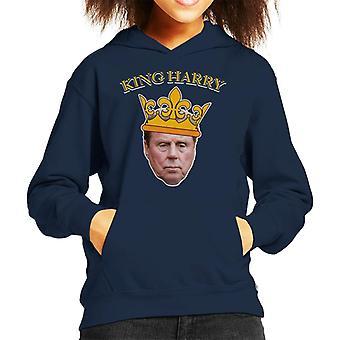Im A Celebrity King Harry Redknapp Kid's Hooded Sweatshirt
