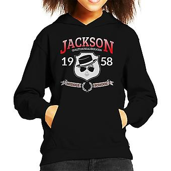 Jackson Middle School Kid das Sweatshirt mit Kapuze