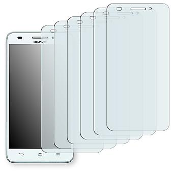 Huawei Ascend G620S screen protector - Golebo crystal clear protection film
