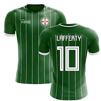 2018 - 2019 Nordirland hjem koncept fodbold Shirt (Lafferty 10)