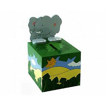 THE TOY WORKSHOP - Money Box - Elephant Wooden Toy
