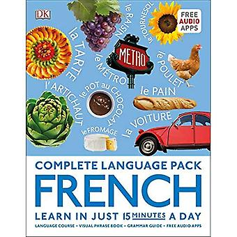 Complete Language Pack French: Learn in just 15 minutes a day (Complete Language Packs)