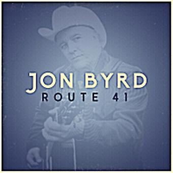Jon Byrd - Route 41 [CD] USA import