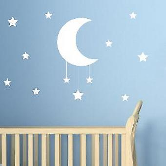 Star & Luna Wall Sticker
