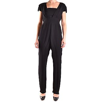 Armani Jeans Black Viscose Jumpsuit