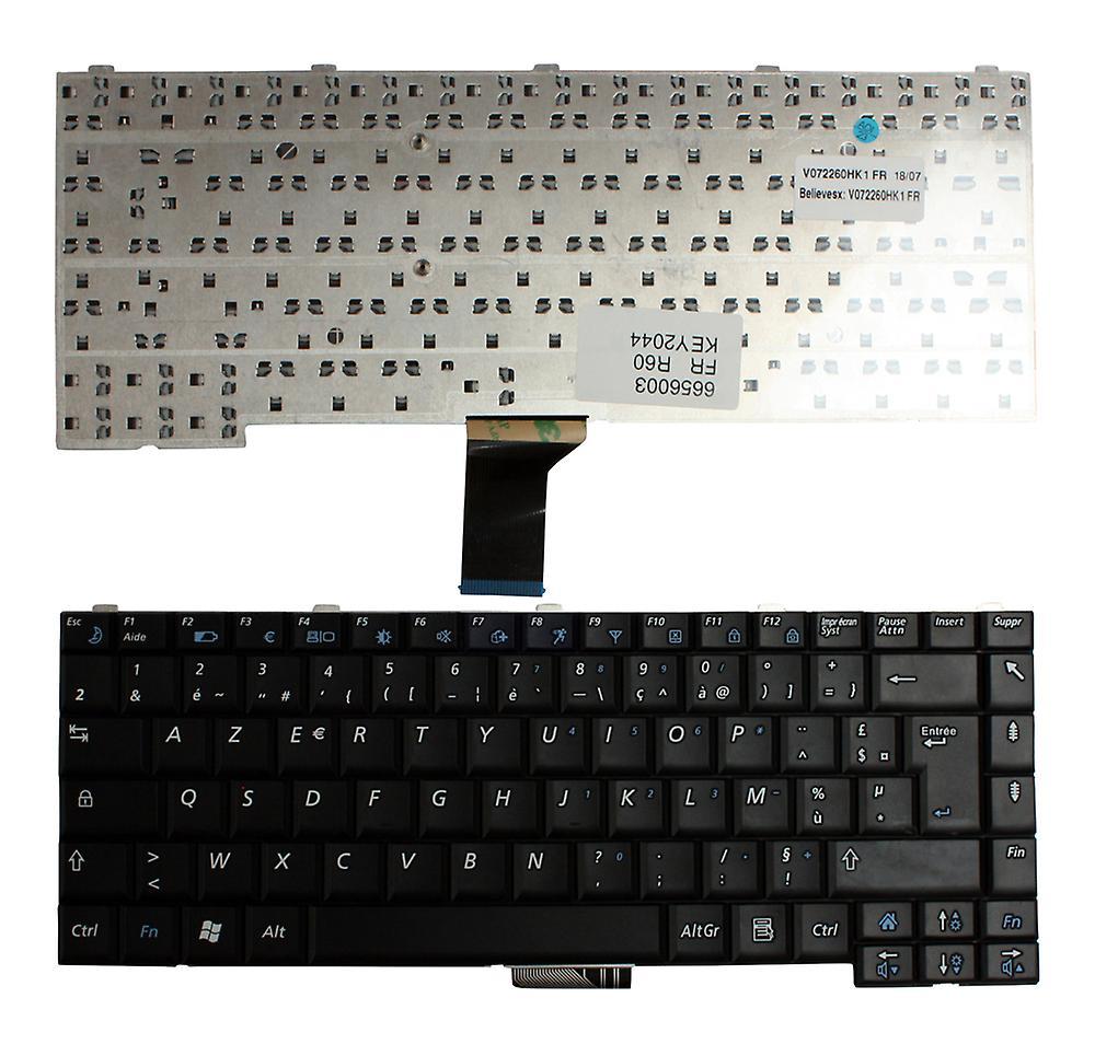 Samsung R60-Aura T5550 Tavon noir Français Layout remplaceHommest clavier d'ordinateur portable