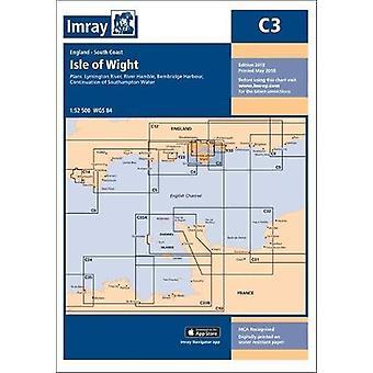Imray Chart C3 - Isle of Wight by Imray Chart C3 - Isle of Wight - 9781