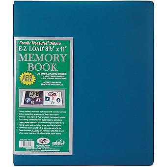 Pioneer Family Treasures Fabric Post Bound Album 8.5