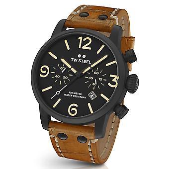Tw Steel Ms34 Maverick Chronograaf Horloge 48 Mm