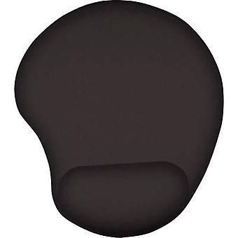 Mouse pad with wrist rest Trust Bigfoot Gel Maus Pad Ergonomic Black