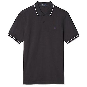 Fred Perry mænds Twin tippes korte ærmer Polo Shirt M1200-566