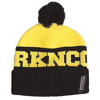 Dark n Cold Inner City Beanie Black Yellow