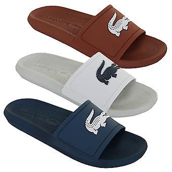Lacoste Mens 2019 Croco Slide 219 1 CMA Flip floppeja