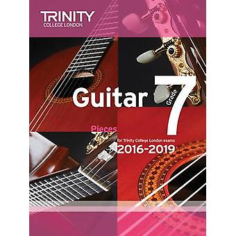 Guitar Exam Pieces Grade 7 2016-2019 by Trinity College London - 9780