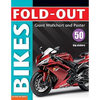 Fold-out Bikes Sticker Book by Paul Calver - 9781906572402 Book