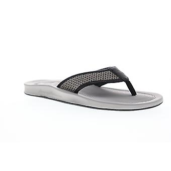 Tommy Bahama Shallows Edge TB8M00055 Mens Gray Thong Flip-Flops Sandals Shoes