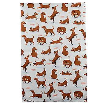 Puckator Catch Patch Dog Tea Towel