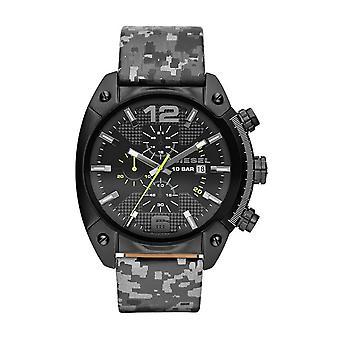 Diesel Camo Overflow Chronograph Watch DZ4324