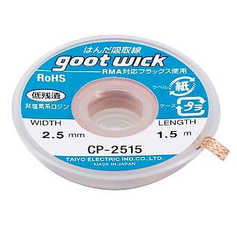 Goot Desoldering Wick - CP-2515 - 2.5mm - 1.5m | iParts4u