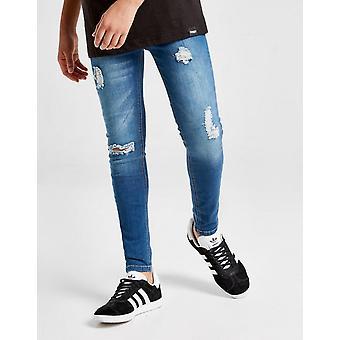 New Sonneti Rubert Ripped Jeans Junior Blue