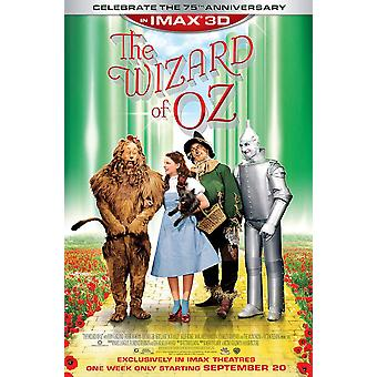 The Wizard Of Oz Poster Double Sided 75Th Anniversary Imax Re-Release - Rare (1939) Original Cinema Poster