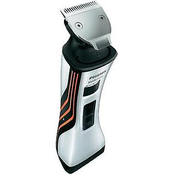 Beard trimmer Philips QS6141/32 StyleShaver washable Silver, Orange