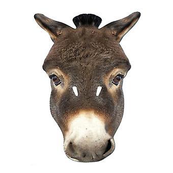 Máscara festa cartão Animal burro