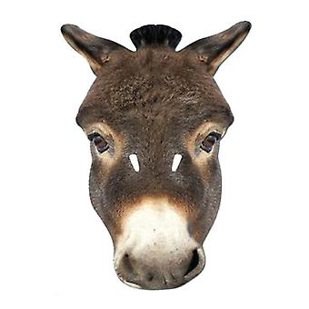 Donkey Animal Card Party Face Mask