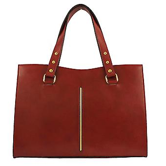 CTM elegant genuine leather woman Shoulder Bag made in italy