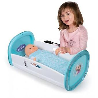 Smoby Frozen Baby Crib (Toys , Dolls And Accesories , Baby Dolls , Cradle)